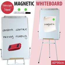 Magnetic WHITEBOARD Stand Telescopic Tripod Flipchart Easel Pen Office School
