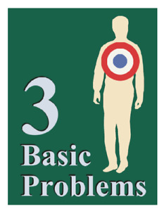 Gospel Bible Tracts Leaflets 3 Basic Problems Hide packed 100 church outreach