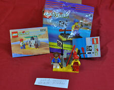 Legos 1713 Shipwrecked Pirate Original Bag & 6232 Instructions - Parts & Pieces