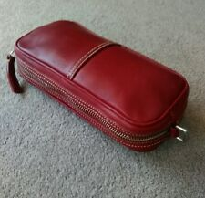 Coach Vintage Red Leather Camera's BAG  with out Strap