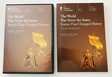 Great Courses Events That Changed History DVDs Guidebook Civilization & Culture