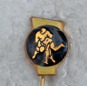 1980 Czechoslovakia Wrestling Federation pin Socialist Czech Classic Freestyle