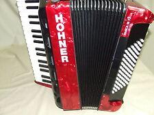 HOHNER fisarmonica amica III 72 Rosso Design 2