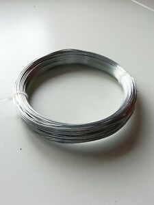 Galvanised Rust Proof Strong Garden Wire Fixing Tying Pick Diameter & Length