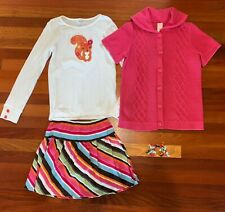 GYMBOREE BACK TO BLOOMS BERRY Have A Fab Day SEQUIN SWEATSHIRT 5 6 7 8 NWT