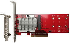 More details for lycom dt-130 dual pcie nvme m.2 ssd carrier adapter