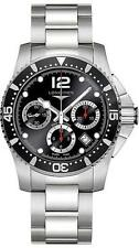 L37444566 Longines HydroConquest Divers Chronograph Black Men's Watch