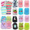 Cute Small Pet Dog Clothes Costume Puppy Cat T-Shirt Summer Apparel Summer Vest