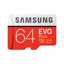 Samsung EVO Plus 64 Go Micro SDXC Carte Mémoire - Rouge (MB-MC64HA/EU)
