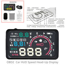 """With Warning System 5.5"""" Car OBD2 HUD Head Up Display Make Driving More Safety"""