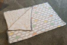 Pottery Barn Kids Crib Quilt Blanket - Planes - 36x50