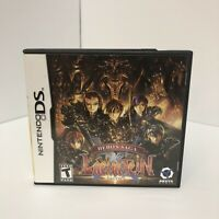 Hero's Saga: Laevatein Tactics (Nintendo DS, 2009) Video Game, Case, And Manual