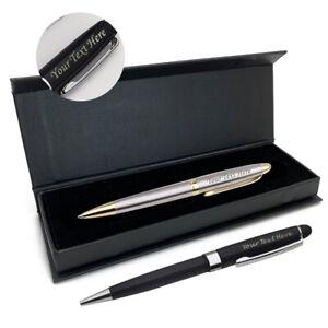 Personalised Engraved Ballpoint Pen Thank You Teacher Graduation Xmas Gift