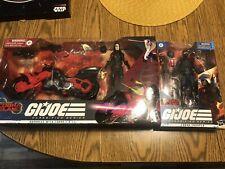 "Baroness w/ cobra C.O.I.L. & Cobra Trooper.  GI JOE Classified 6"" Target"