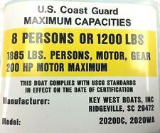 Key West Plexiglass Windscreen w// Black Trim for WS-211CC PN BKW-0006 Marine