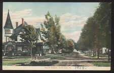 Postcard UNION CITY PA  4th Fourth Ave Large Victorian  House/Home w/Spire 1907