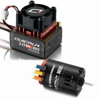 Hobbywing QUICRUN 10BL60 Sensored ESC / 3650 Brushless 21.5T G2 Motor : 1:10