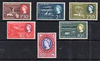 Kenya U Tanganyika 1960 mint LHM High Values #193-198 WS13599