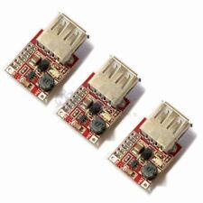 3 PCS Step Up DC-DC Boost Converter 3V to 5V 1A USB Charger Mini Mobile