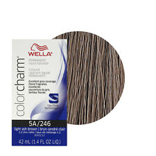 Wella Color Charm Permament Liquid Hair Color 42mL Light Ash Brown 246 5A
