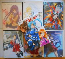ANIME LOT/DIVERGENCE EVE COLLECTION/KANON 1 2 4/CLANNAD/AIR THE MOTION PICTURE