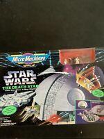Micro Machines 1993 Star Wars The Death Star Galoob Playset R12