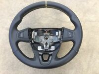 Renault Megane 3 III RS 250 265 275 Steering Wheel Yellow Stitch 484007578R MON