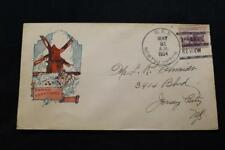 NAVAL COVER 1934 SHIP CANCEL EASTER PASSING REVIEW USS NORTHAMPTON (CA-26) (6276