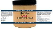 Organic Hot Cream-Cellulite Cream-Muscle Rub- (8 Ounce)