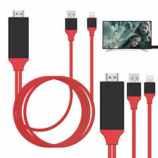 8 Pin Lightning to HDMI TV AV Adapter Cable for iPhone X 5 6 6S 7 8 Plus iPad