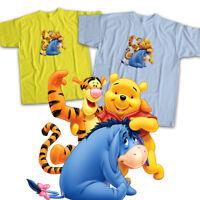 Winnie the Pooh Tigger Eeyore Disney Friends Mens Womens Kids Unisex Tee T-Shirt