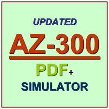 Latest AZ-300 Verified Practice Test Exam QA SIM PDF+Simulator