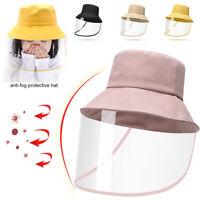 Kinder Gesichtsschutzschirm Visier mit Hut Schutz Schild Schutzhut Schutzvisier