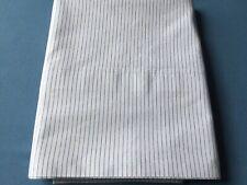 Ralph Lauren Blue Pinstripe Standard Pillowcase EUC
