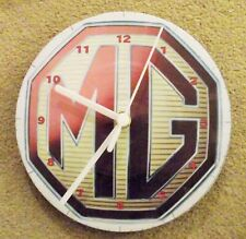 "MG 7"" WALL CLOCK upcycled"