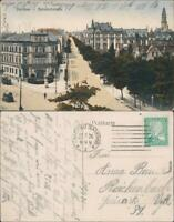 Ansichtskarte Zwickau Partie in der Bahnhofstraße 1926