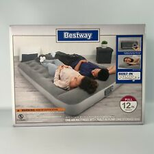 Bestway Full Size Inflatable Air Mattress With Built in A/C Pump. New Unopened