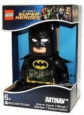 """Lego Kids 9005718 Super Heroes Batman DC Comics Alarm Clock Light Up 9"""""""