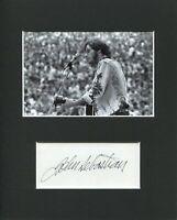 John Sebastian Lovin' Spoonful Rock Roll HOF  Signed Autograph Photo Display