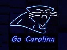 """Carolina Panthers Go Carolina Neon Sign 20""""x16"""" Beer Light Lamp Bar Display"""