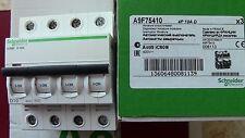 DISJONCTEUR iC60N  4P D10 10A SCHNEIDER   TETRA 008113