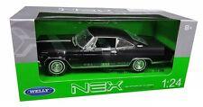 WELLY 1:24 W/B 1965 CHEVROLET IMPALA SS 396 HT Diecast Car Model Black
