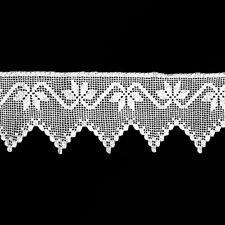 Spitze Weinranke Häkelspitze Gardine 21 cm hoch Meterware 0,5 m Je 3,50 €