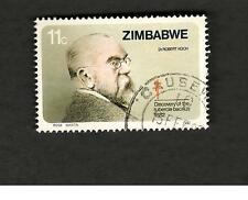 1982 Zimbabwe SC #456 DR. ROBERT KOCH Discovery of the TB BACILLUS used stamp