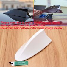 White Car Radio FM/AM Signal Aerial Shark Fin Antenna For Vauxhall Insignia