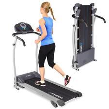 Laufband Handpulssensor LCD Display Heimtrainer Fitnessgerät 1100 W