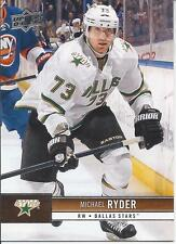 Michael Ryder #58 2012-2013 Upper Deck Series One NHL Hockey Card Dallas Stars
