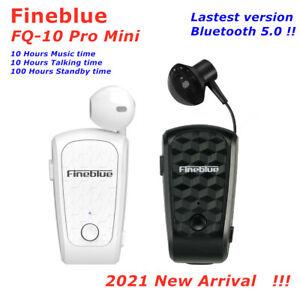 2021 NEW Mini FineBlue FQ-10Pro Bluetooth BT 5.0 Headset Earphone Earbud 10HTalk
