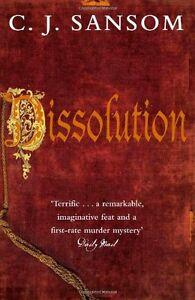 Dissolution (The Shardlake Series),C. J. Sansom
