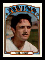 1972 Topps #201 Phil Roof  NM/NM+ X1522420